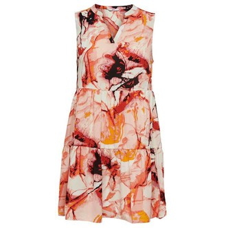 Cloud Dancer MARBLE ONLALMA LIFE POLY SHORT DRESS 15205545 fra Only