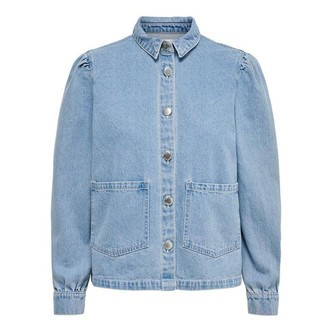Light Blue Denim ONLRIZZ SHIRT JACKET YORK 15206508 fra Only