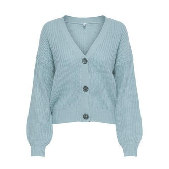 Blue Fog ONLNANNA L/S BUTTON CARDIGAN 15227284 fra Only