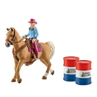 Schleich Farm World - Barrel Racing