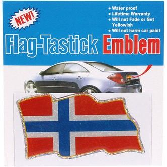 Flag-sticker Norge