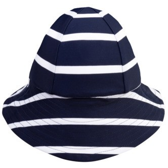 Petit Crabe Frey UV hat - blue/white