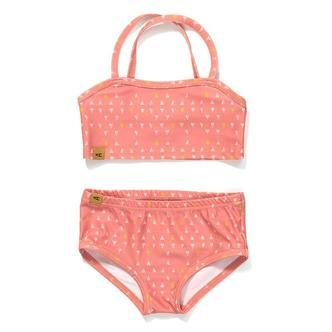 AlbaBaby rose triangle UPF 50+ bikini