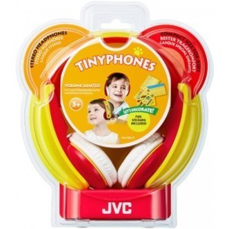 JVC Kids Headphone, Red