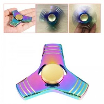 Tri-bar fidget spinner