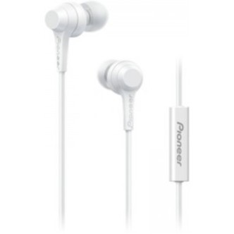 Pioneer In-Ear w/mic - White