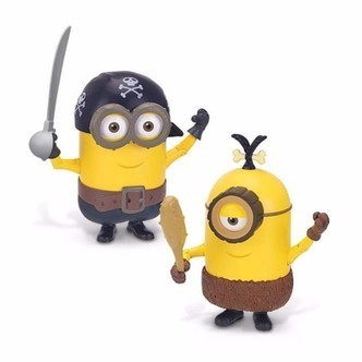 Minions - Deluxe Action, Byg en Pirat/hulemand
