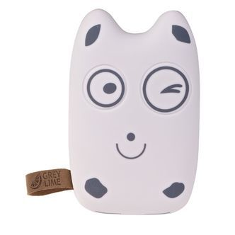 GreyLime powerbank Power Owl, 7800 mAh, Happy Face