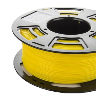 SERO PLA filament til 3D printer, 1 kg, 1,75 mm. Gul
