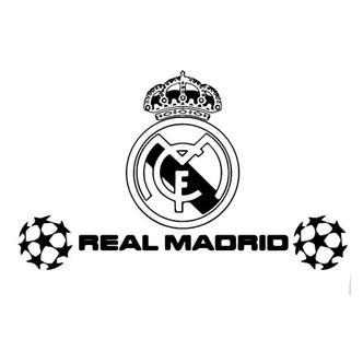 Real Madrid wallsticker. Champions League. 40x70cm