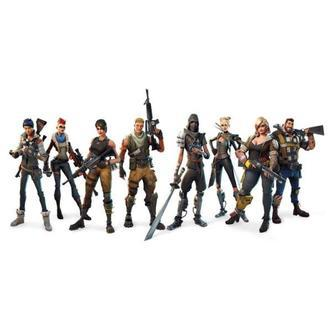Fortnite wallsticker. Hele teamet. 60x30cm