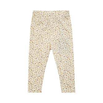Petit by Sofie Schnoor - Leggings, Lily - Off White / Flower