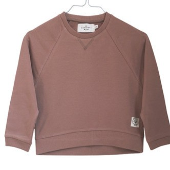 Monsieur Mini - Sweatshirt, See You Later - Caramel