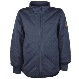 Mikk-Line - Soft Thermo Boy Jacket, Recycled - Blue Nights