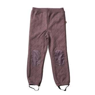 byLindgren - Termobukser, Sigrid Thermo Pants - Purple Moon