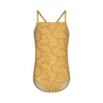 Petit by Sofie Schnoor - Swimsuit UV50, Anabella - Yellow / Gold