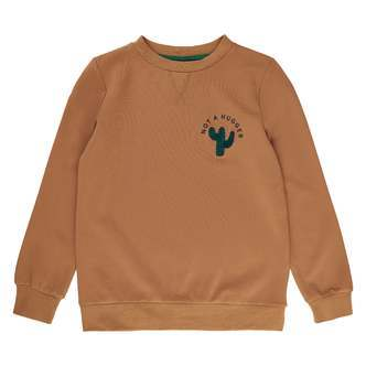 THE NEW - Tobias Sweatshirt (TN3349) - Tobacco Brown