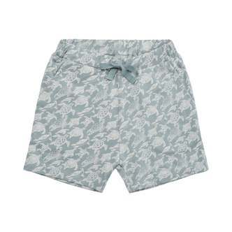 Petit by Sofie Schnoor - Shorts, Monty - Dusty Blue / Turtle