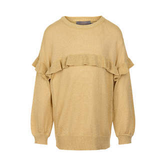 Creamie - Pullover Glitter Knit (821187) - Gold