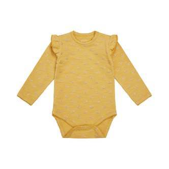 Petit by Sofie Schnoor - Body LS, Dicte - Yellow / Champagne