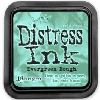 Stempelsværte evergreen bough Distress Ink