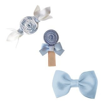 Milledeux® Candy Collection gift set - Bonbon, Lollipop and Bow - bluebell