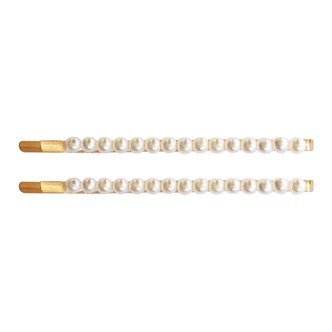 Milledeux® Single row pearl hair pin - set with 2 hair pins