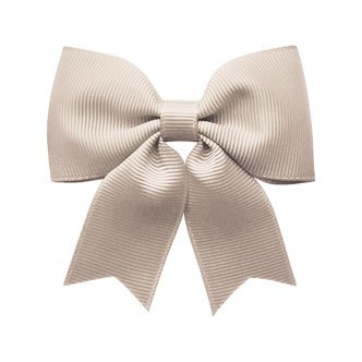 Medium bowtie bow w/ tails - alligator clip - Carmandy