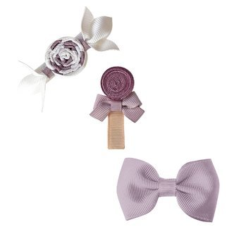 Milledeux® Candy Collection gift set - Bonbon, Lollipop and Bow - thistle