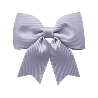 Medium bowtie bow w/ tails - alligator clip - Thistle