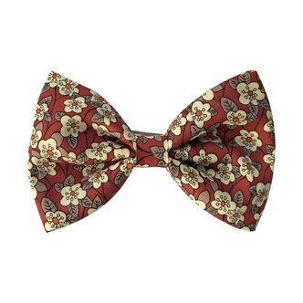 Large bowtie bow - alligator clip - Liberty Ffion C