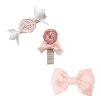 Milledeux® Candy Collection gift set - Bonbon, Lollipop and Bow - Powder pink